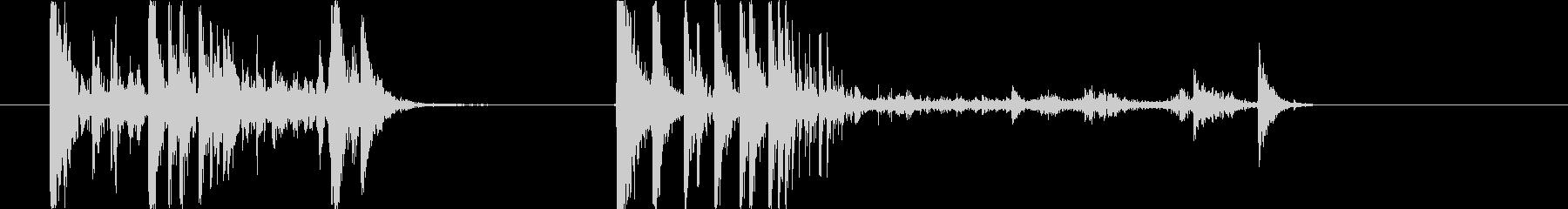 ガターボール(2x);ボウリングガ...の未再生の波形