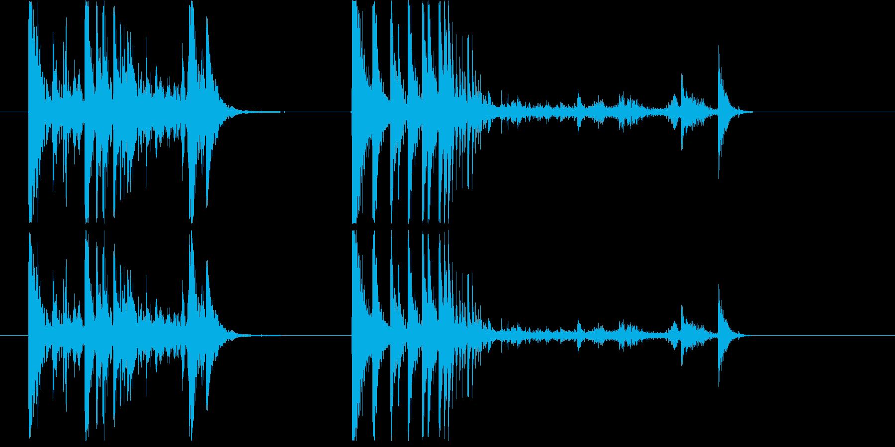ガターボール(2x);ボウリングガ...の再生済みの波形