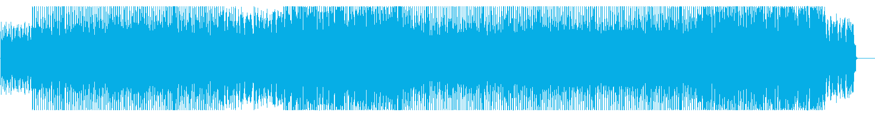 明るく幻想的なディスコビートの再生済みの波形