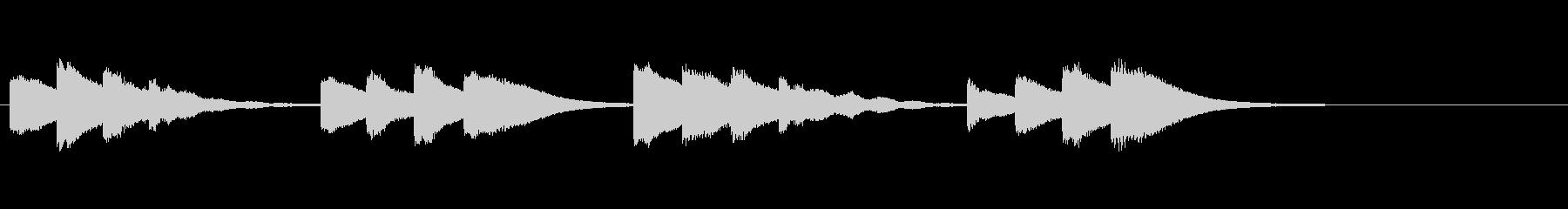 学校のチャイム/低音/キンコンカンコンの未再生の波形