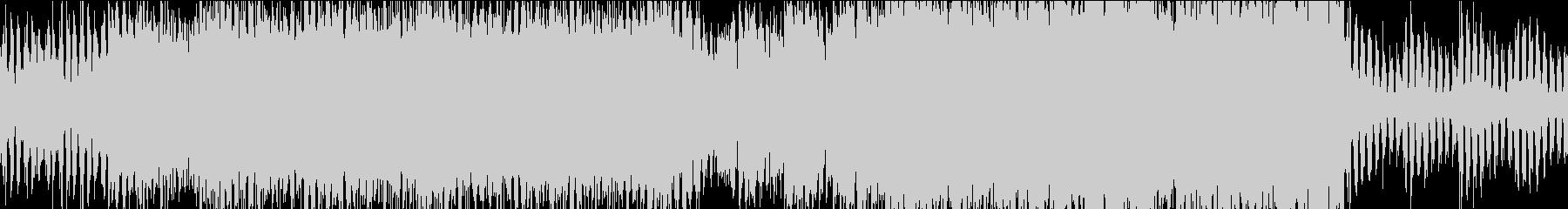 ディスコ風の爽やかなハウスループの未再生の波形