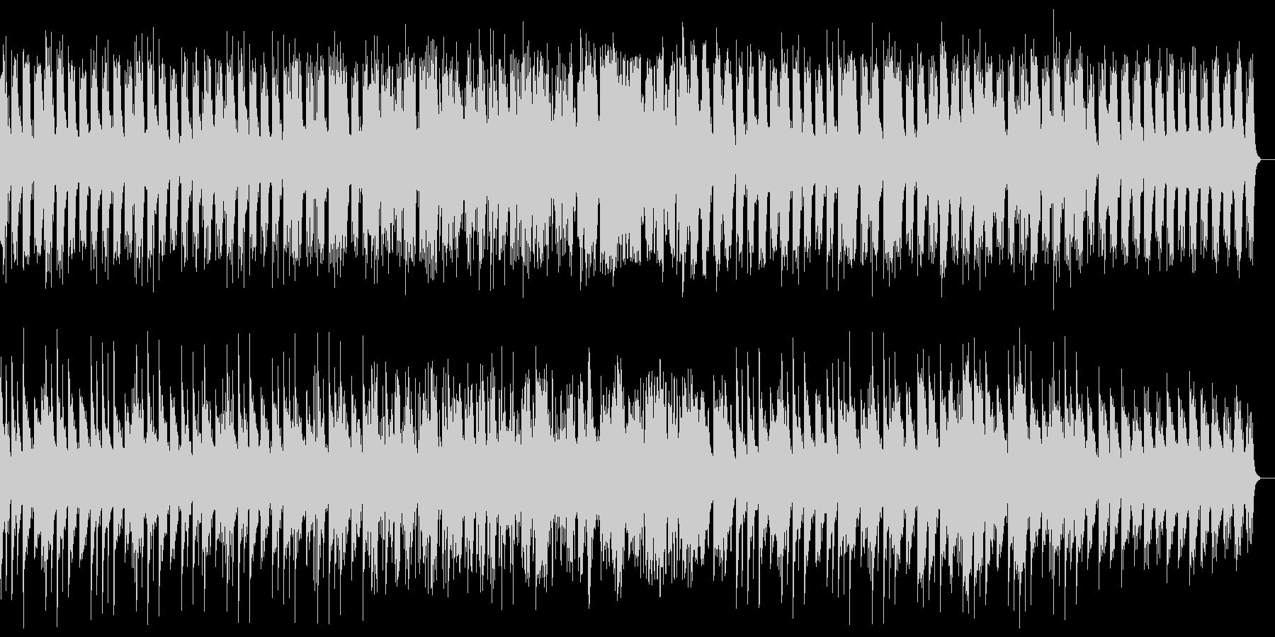 壮大でメロディアスなヒーリングピアノ曲の未再生の波形