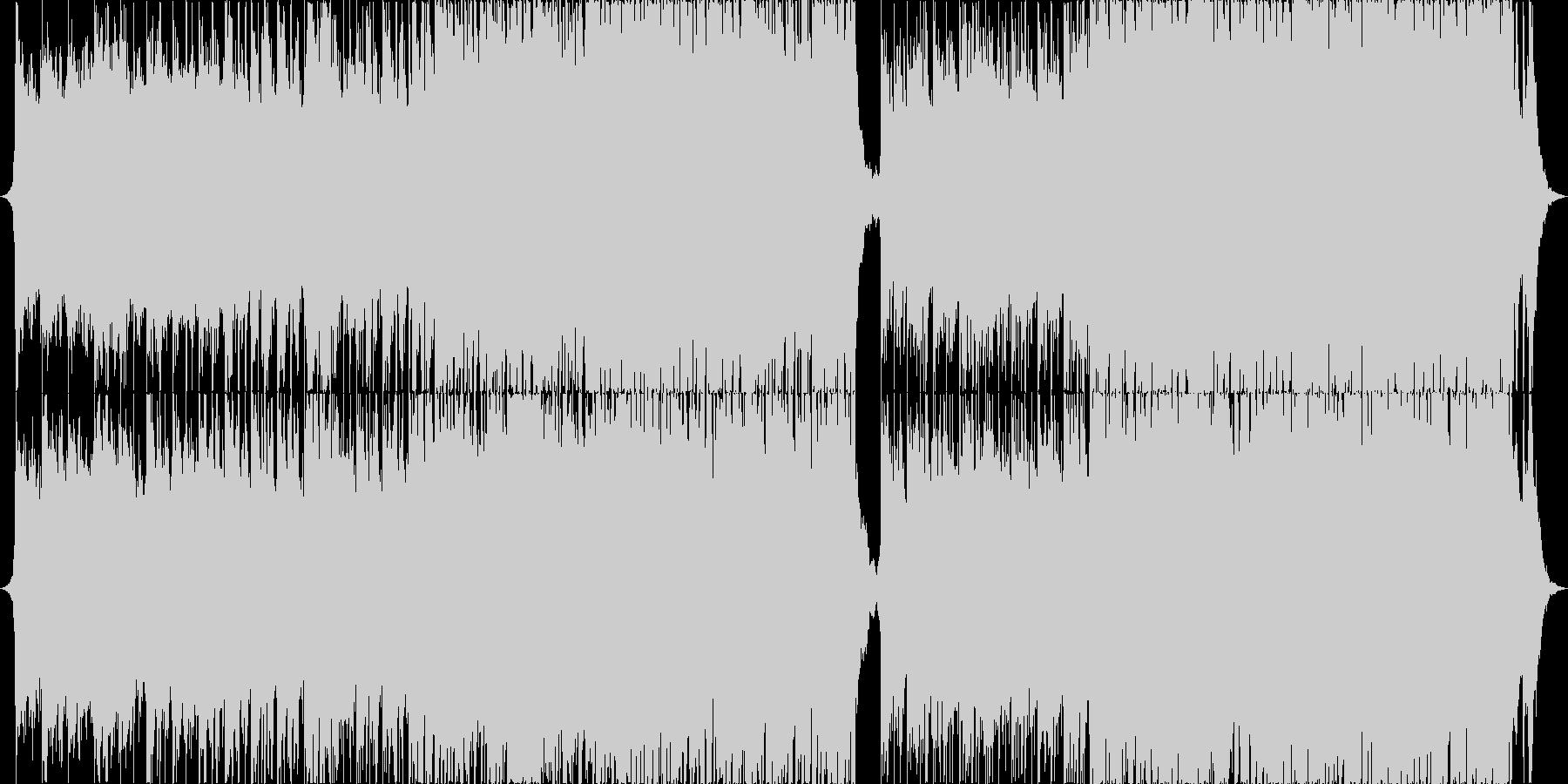 明るく爽やかなコーポレート系BGMの未再生の波形