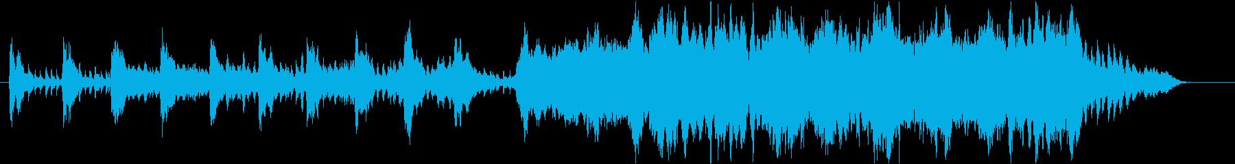 チャイコフスキー 「弦楽セレナーデ」の再生済みの波形