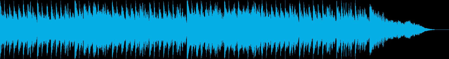 カントリーウエスタン調の愉快なポップの再生済みの波形