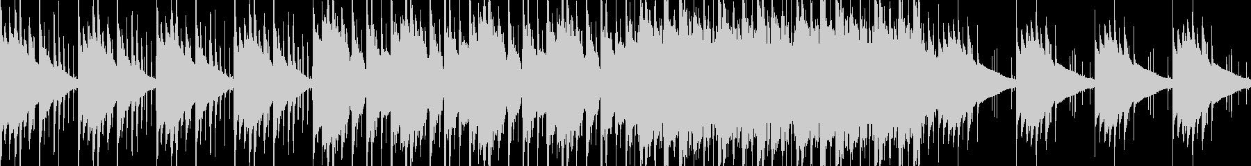 妖しい雰囲気の民族音楽風BGMの未再生の波形
