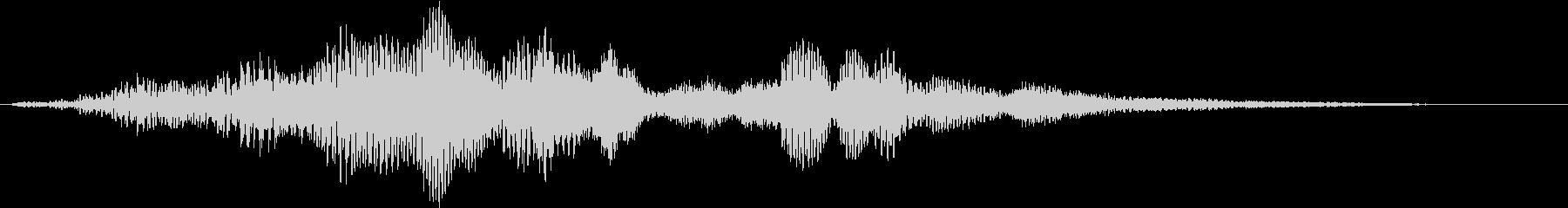 【映像演出】場面転換_効果音の未再生の波形