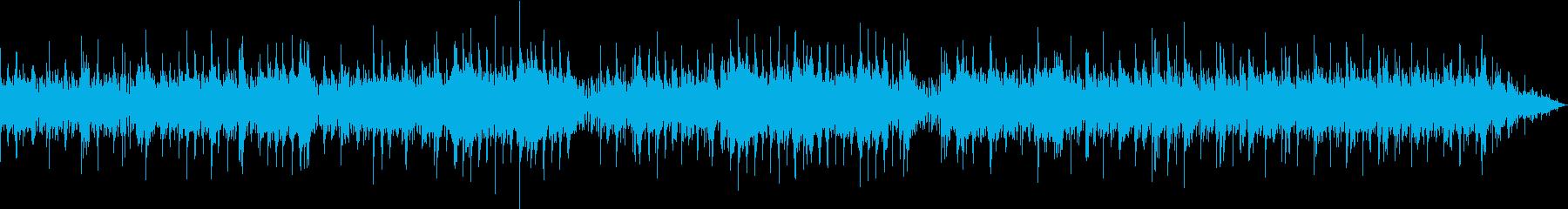 お洒落でJazzyなポップソングの再生済みの波形