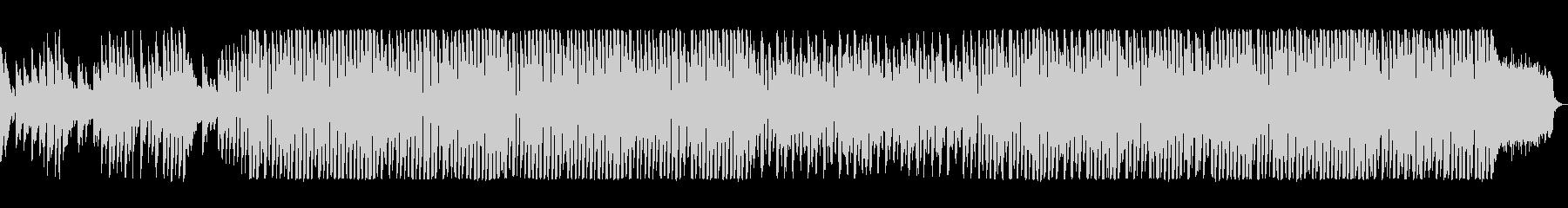 明るい楽しいエレクトロポップの未再生の波形