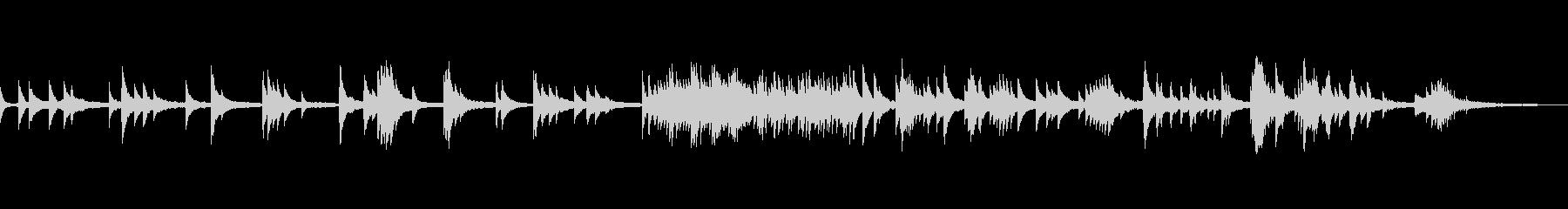 映像・ナレーション用ピアノ演奏(切なさ)の未再生の波形