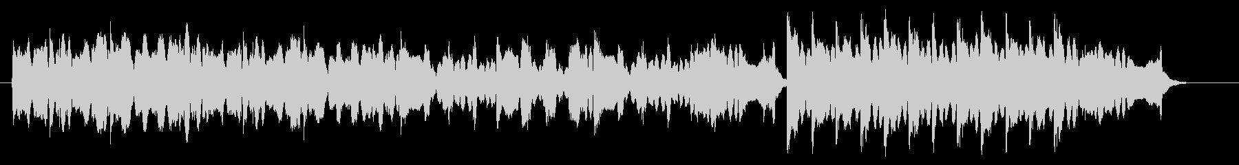 フィドルによる陽気なケルト・アイリッシュの未再生の波形