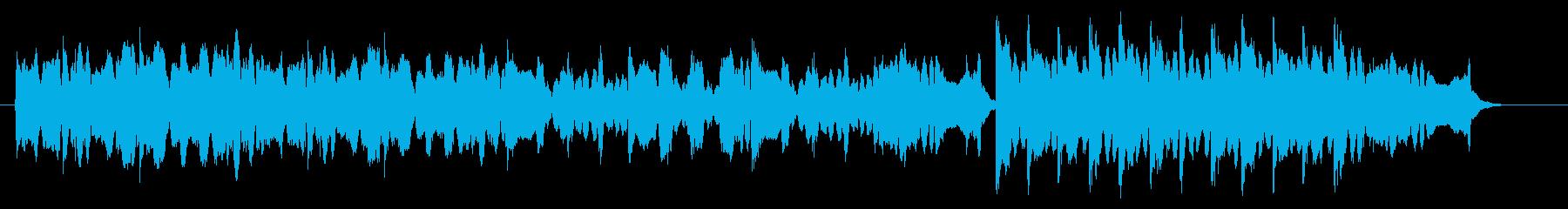 フィドルによる陽気なケルト・アイリッシュの再生済みの波形