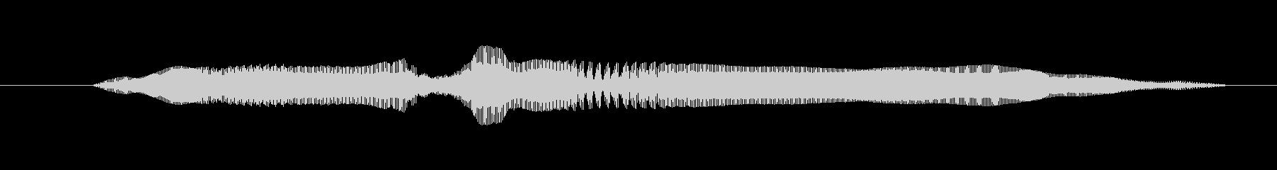ドワーフ 応援W湖10の未再生の波形