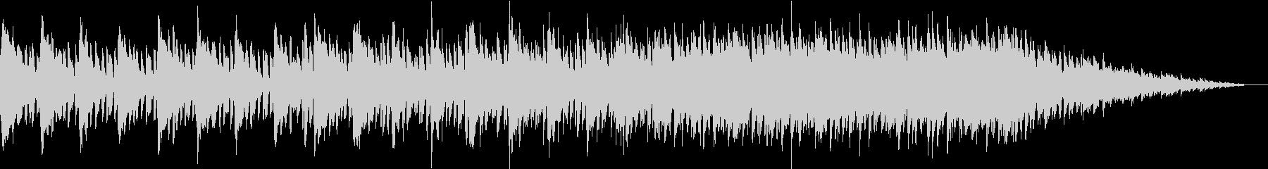 軽快なピアノを彩るキラキラAギター生演奏の未再生の波形
