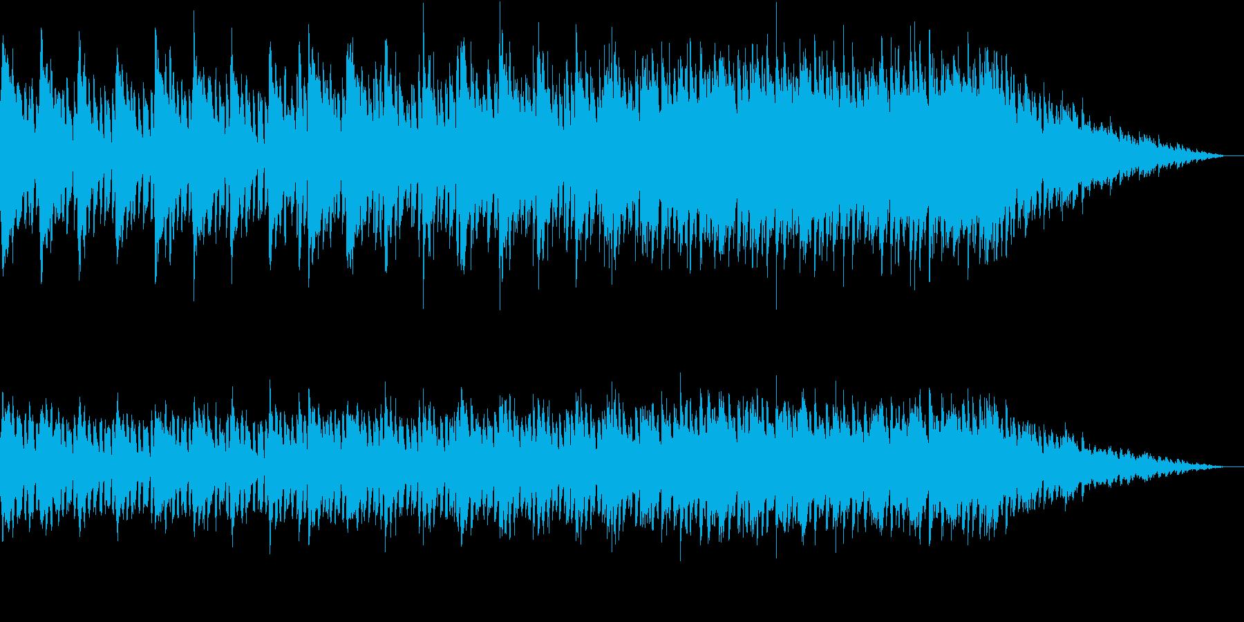 軽快なピアノを彩るキラキラAギター生演奏の再生済みの波形