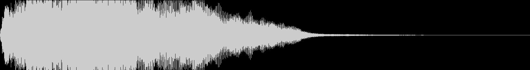 迫力あり、重低音もありなDRONEの未再生の波形