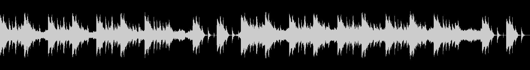 ストリングスと琴で奏でる和風BGMの未再生の波形