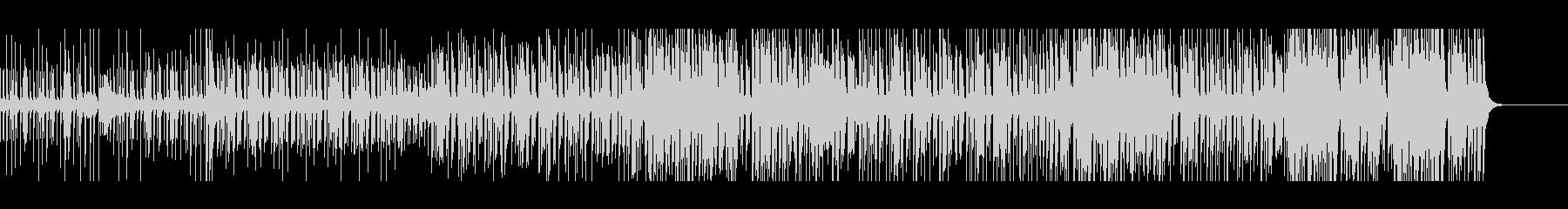 メロディにマリンバを配したレトロロック感の未再生の波形