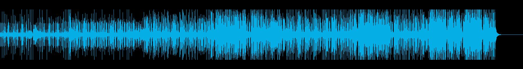 メロディにマリンバを配したレトロロック感の再生済みの波形