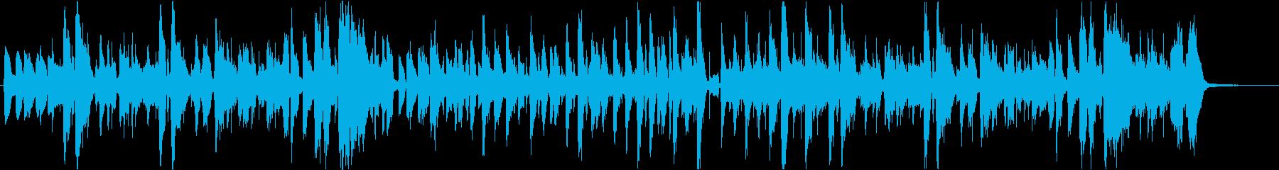 ごはんをテーマにした楽曲の再生済みの波形