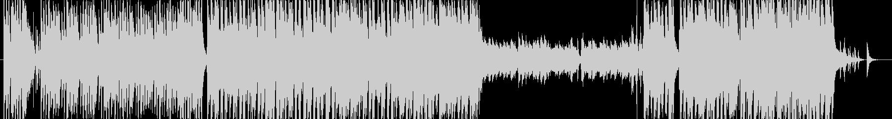 トランペットメインの軽快スウィングジャズの未再生の波形
