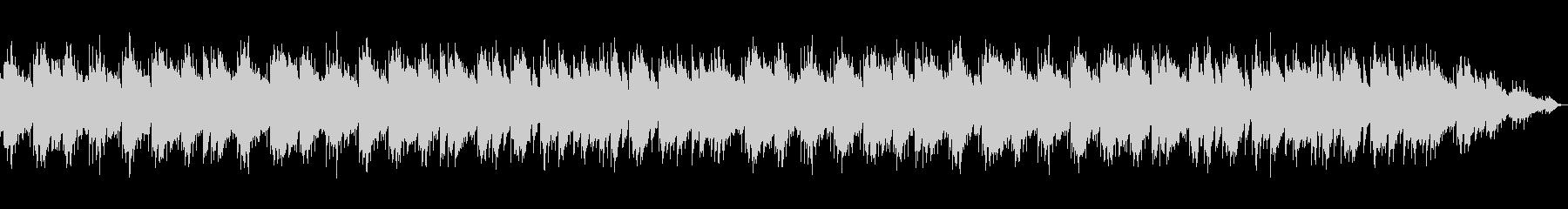 癒される雰囲気のオルゴールBGMの未再生の波形