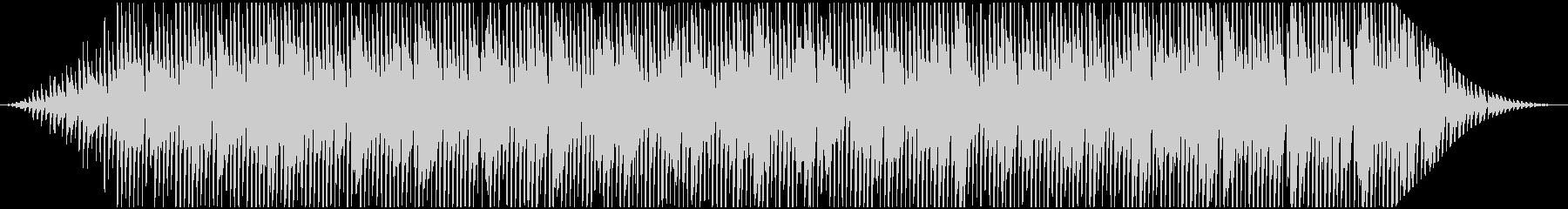 アナログシンセの粘りを使ったフレーズの未再生の波形