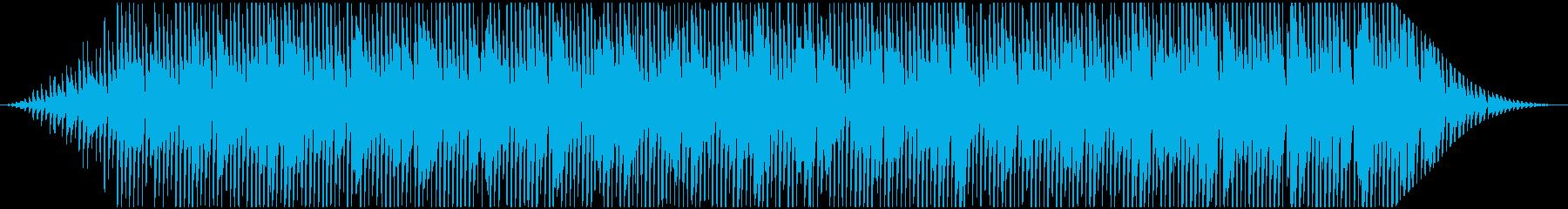 アナログシンセの粘りを使ったフレーズの再生済みの波形