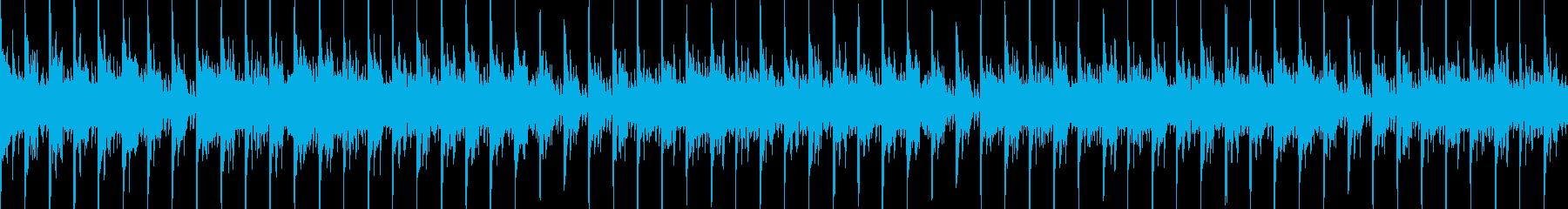 お菓子の楽しいCM曲 30秒ぴったりの再生済みの波形