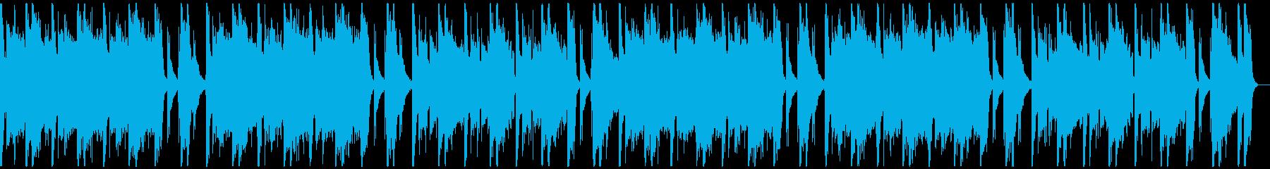 パワフルクラップ&ストンプ&ロックギターの再生済みの波形