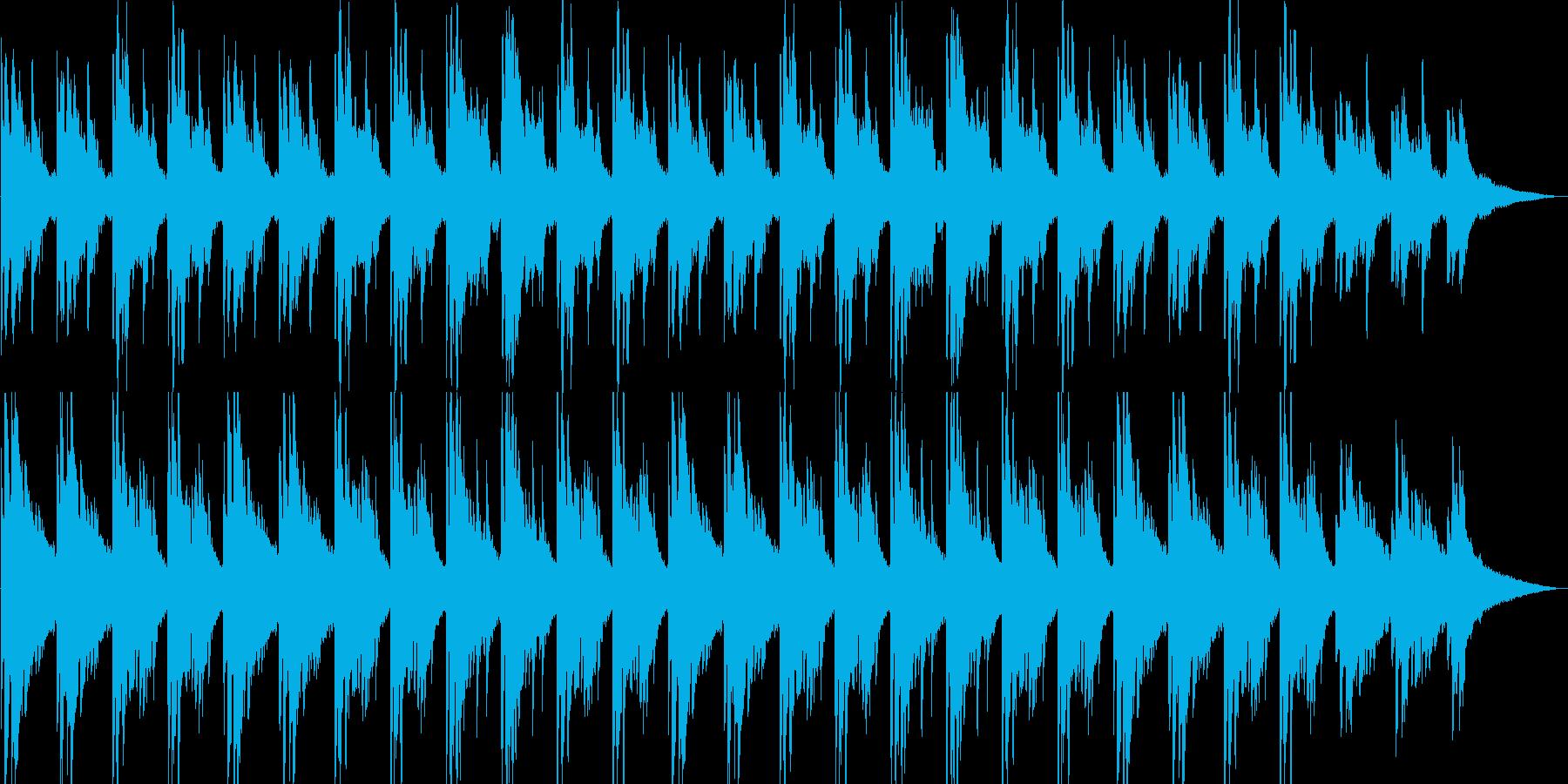 リラックス・映像・ゲーム・ナレーション用の再生済みの波形