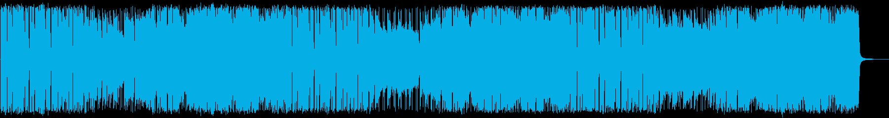 おしゃれかつクールで都会的な曲の再生済みの波形