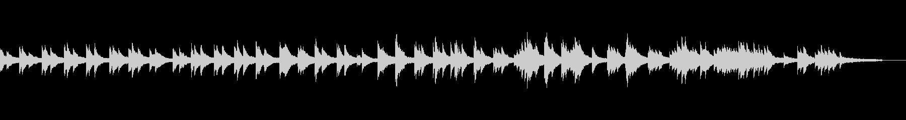 映像・ナレーション用ピアノ演奏(喜び)の未再生の波形