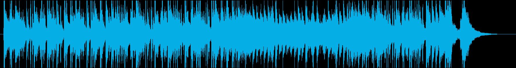 ポップ テクノ 壮大 バンド 振り...の再生済みの波形