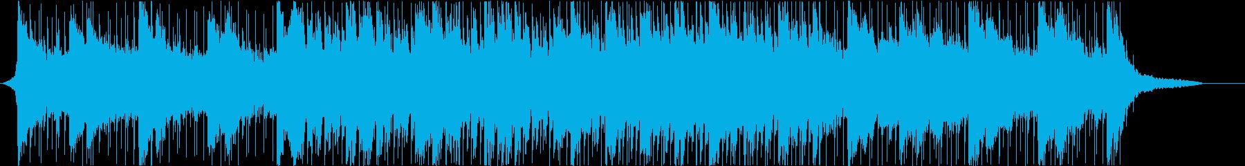 企業VPや映像に 爽やか疾走感_Med2の再生済みの波形
