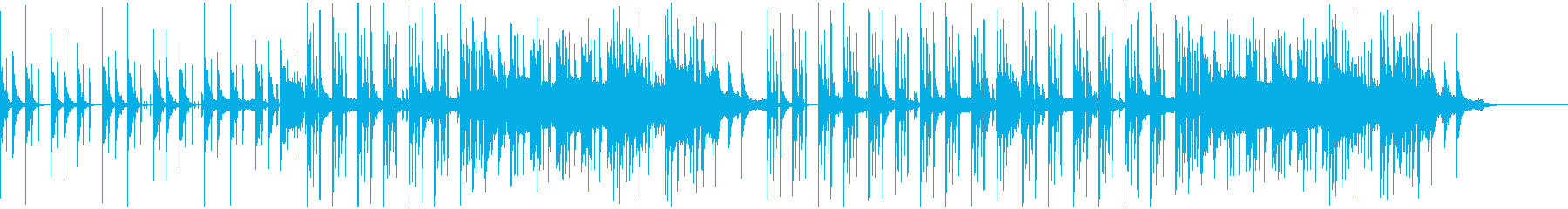 CM・ジングル・無機質&ポップスの再生済みの波形