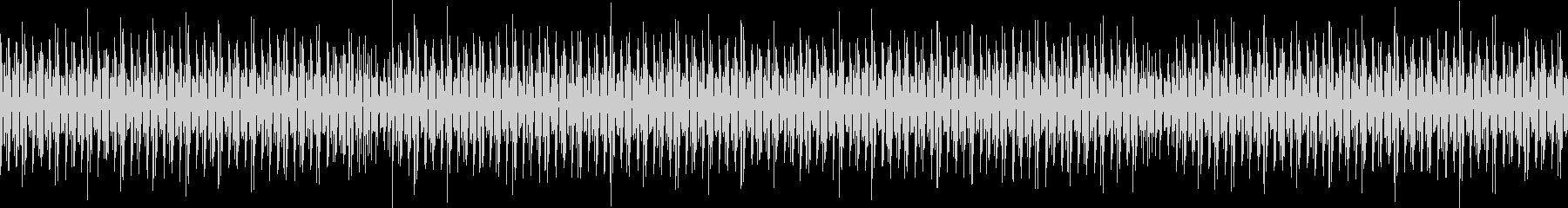 軽薄な感じのBGM4つ打ち ループ仕様の未再生の波形