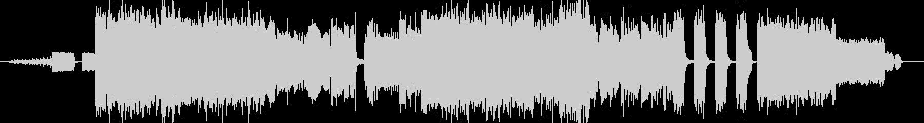 『超』激しい不快、雑音な重低音の作曲♪の未再生の波形