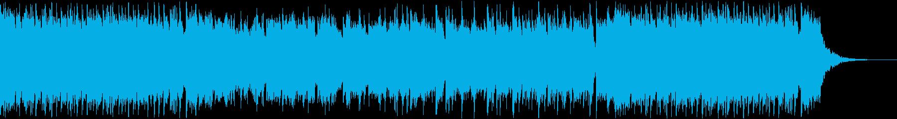 報道系ニュース番組のOP曲の再生済みの波形