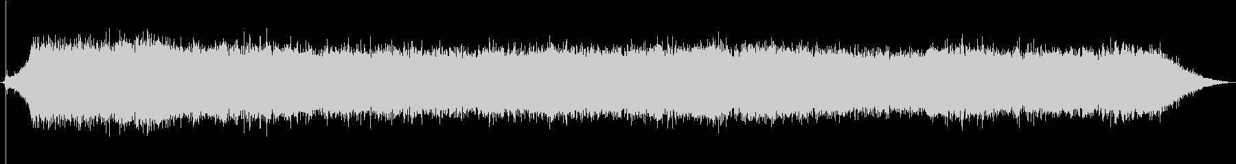換気扇の音を高音質でレコーディングの未再生の波形