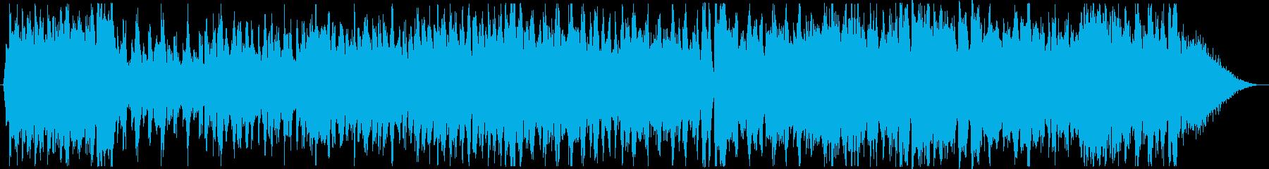 クリスマスの定番ウィンターワンダーランドの再生済みの波形