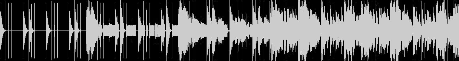 【ループ仕様】コミカルな曲の未再生の波形