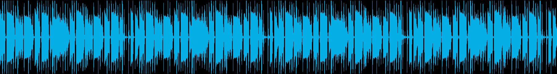 ポンコツ会話の再生済みの波形