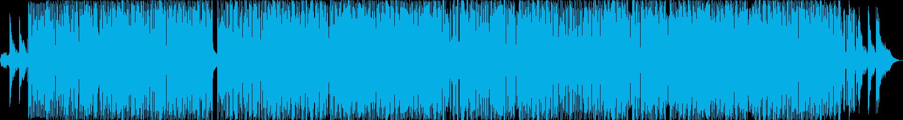 インストディープハウスの再生済みの波形