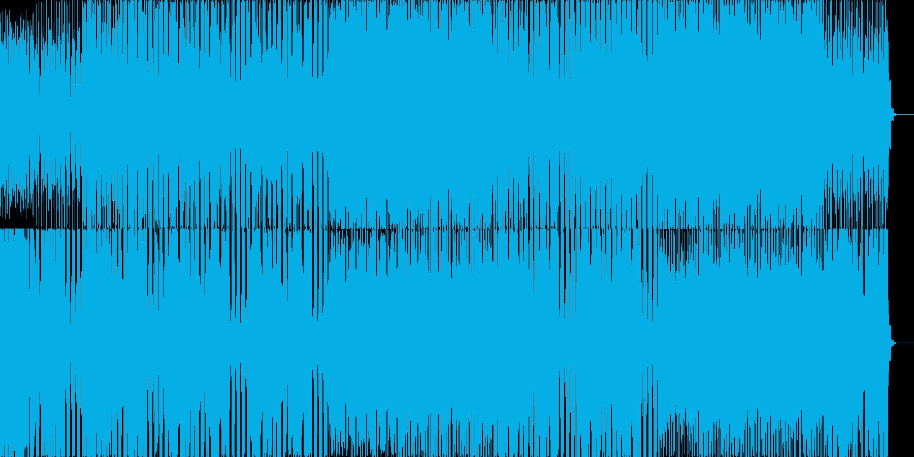 アコギとシンセとクラップ、軽快なリズムの再生済みの波形
