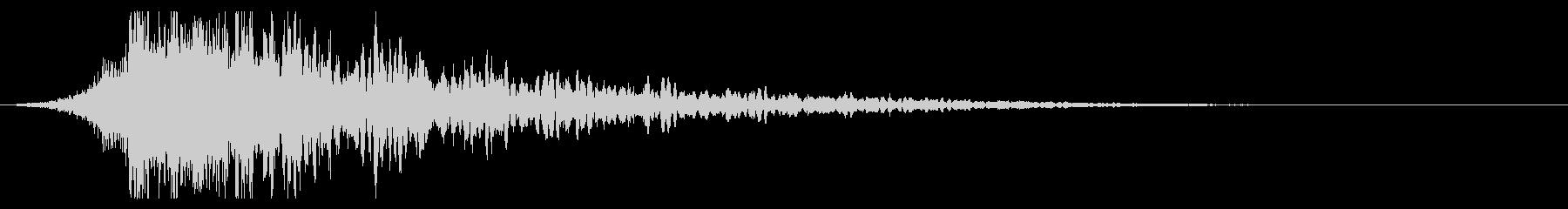 シュードーン-61-1(インパクト音)の未再生の波形