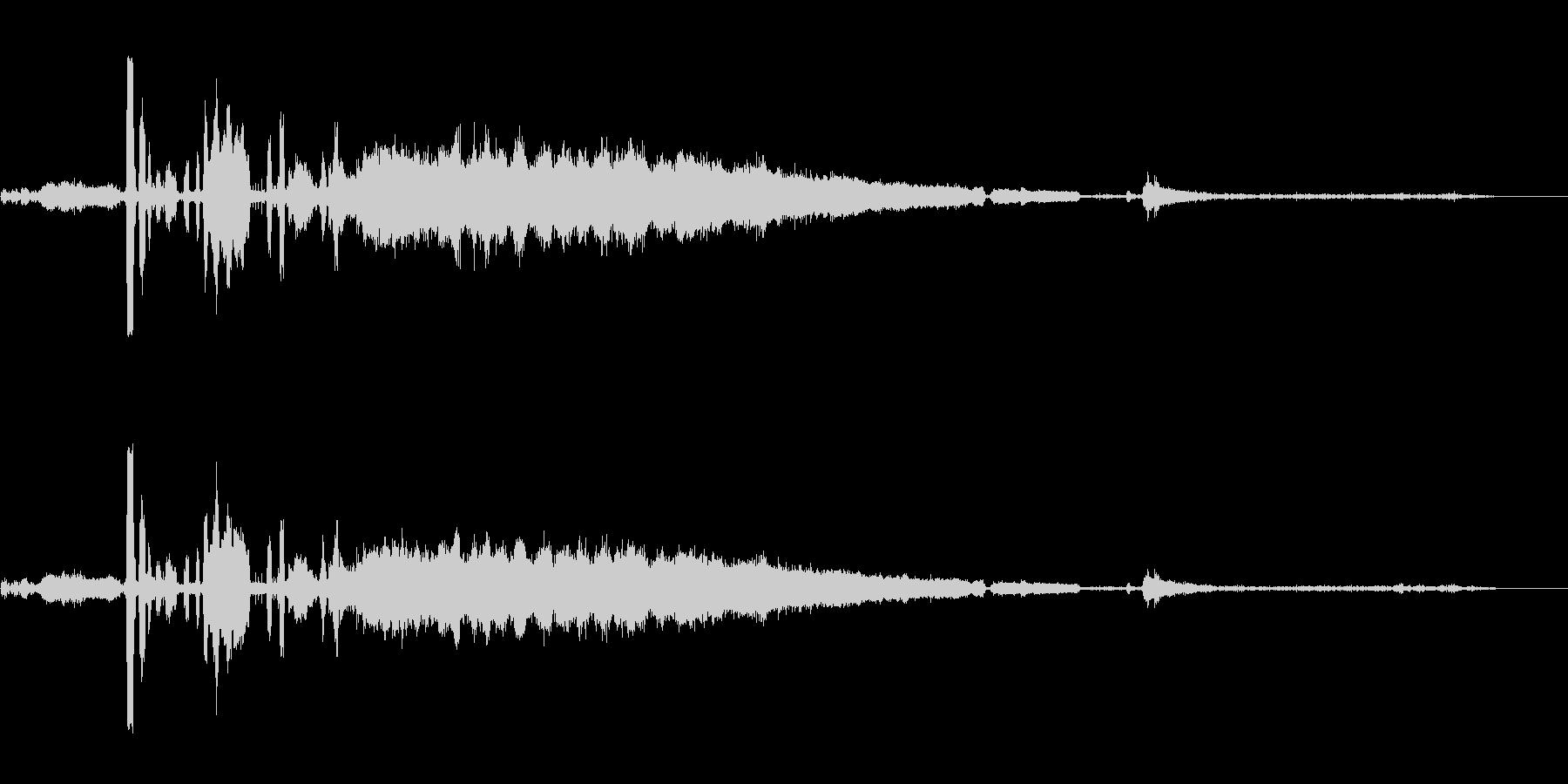 カーラジエーター;沸騰、ヒスとオー...の未再生の波形