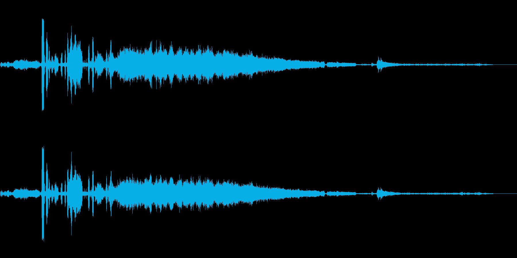 カーラジエーター;沸騰、ヒスとオー...の再生済みの波形
