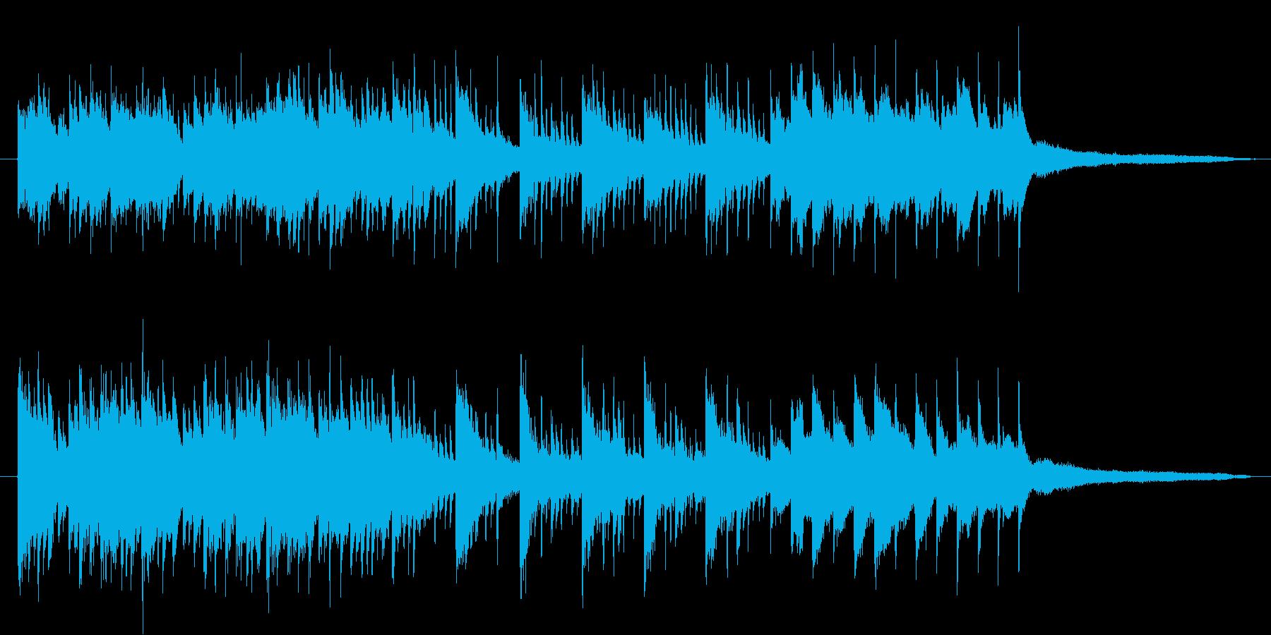 透明感とリズムが同居したピアノ小作品の再生済みの波形