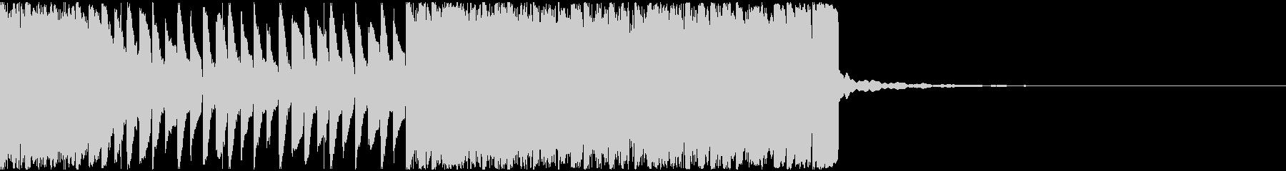 【EDM】約20秒、ジングル2の未再生の波形